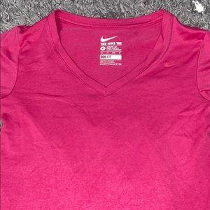 Nike Dri-fit athletic cut tshirt